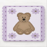Bear Stamp Mouse Pad