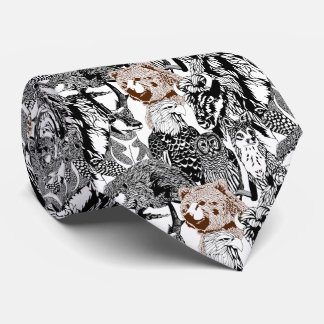 Bear Stand-out Tie