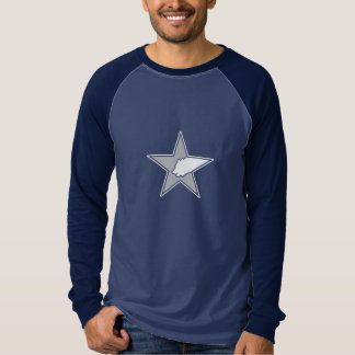 Bear & Star Logo 3/4 Sleeve Tee