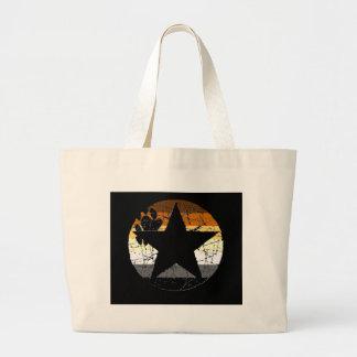 Bear Stars Canvas Bag