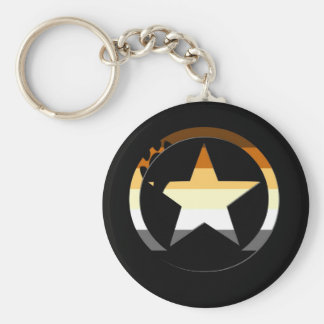 Bear Stars Key Chain