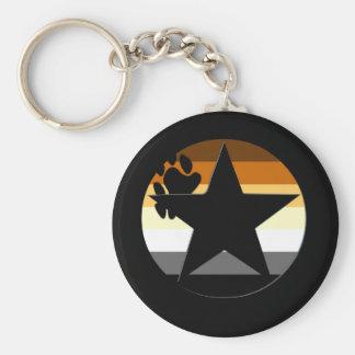 Bear Stars Keychain