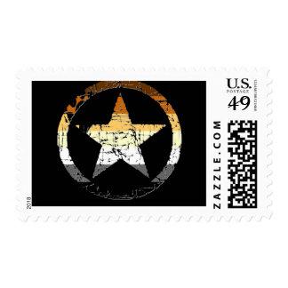 Bear Stars Postage Stamp