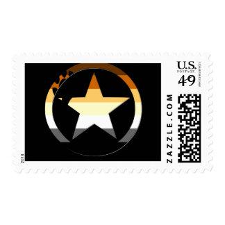 Bear Stars Stamp