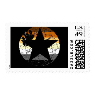 Bear Stars Stamps