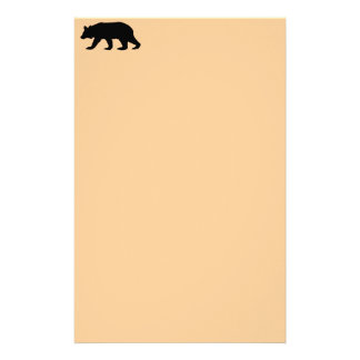 Bear Personalized Stationery