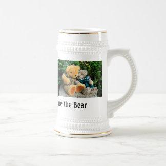 Bear stein 18 oz beer stein