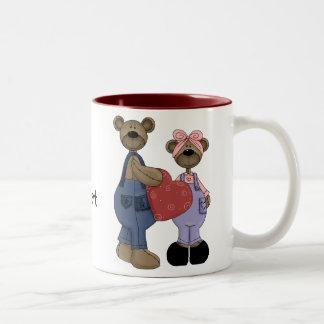 Bear Sweethearts Customizable Coffee/Tea Mug