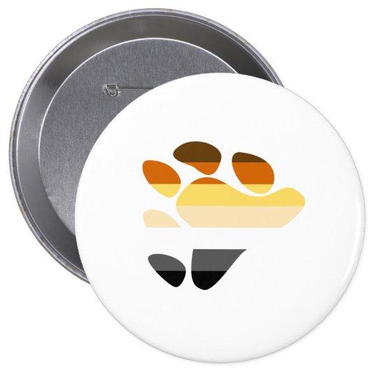 Bear Symbol Pinback Button