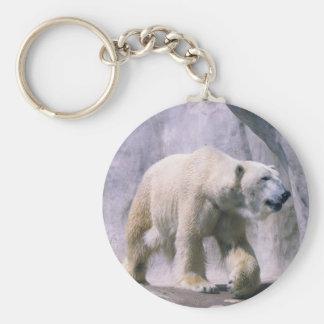 Bear taking a Stroll Keychain