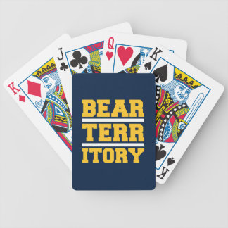 Bear Territory Bicycle Playing Cards