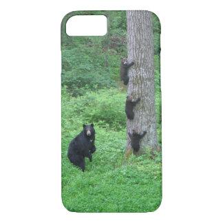 Bear & Three Cubs iPhone 7 Case