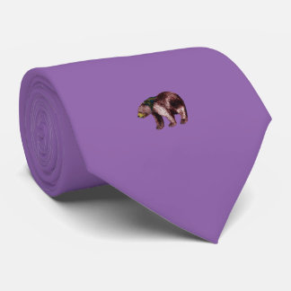 Bear Tie Purple