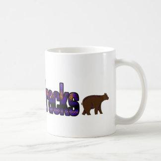 Bear Tracks Coffee Mug