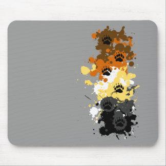 bear tracks mousepads