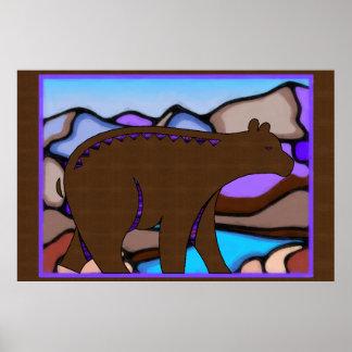 Bear Tracks Poster
