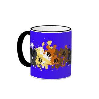bear tracks ringer coffee mug