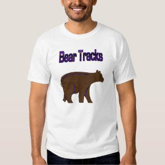 Bear Tracks T-shirts