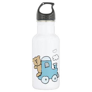 Bear Train Stainless Steel Water Bottle