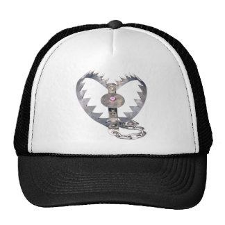 Bear Trap Heart Trucker Hat