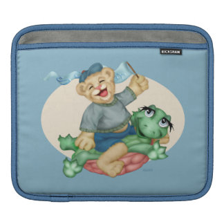 BEAR TURTLE CARTOON iPad H Sleeve For iPads