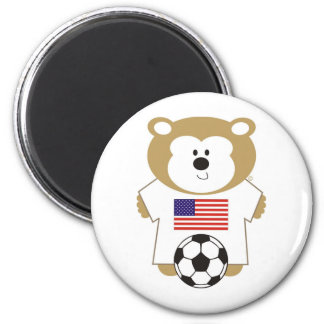 BEAR UNTED STATES 2 INCH ROUND MAGNET