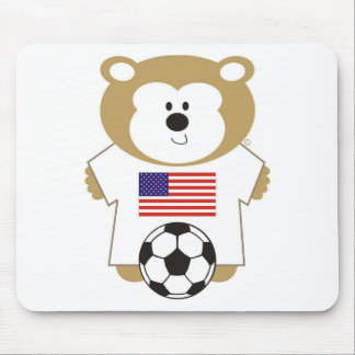BEAR UNTED STATES MOUSE PAD