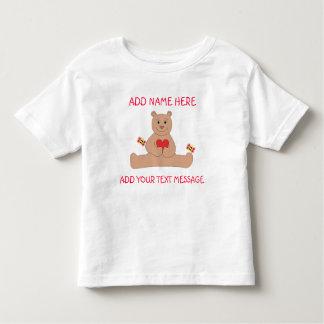 Bear Valentine Toddler T-shirt