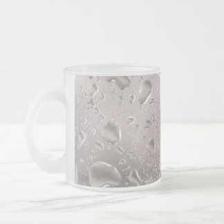 Bear View Frosted Glass Coffee Mug