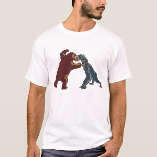 Bear vs Gorilla T-Shirt