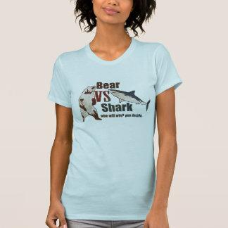 Bear vs. Shark. Who will win? you decide. Shirts