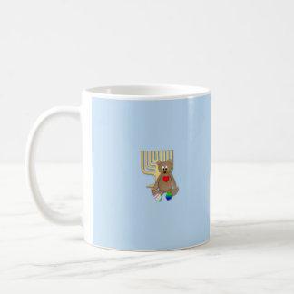 Bear w/ Mennorah Mug