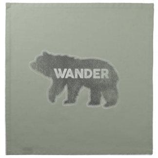 Bear Wander Vintage (v1) Napkin