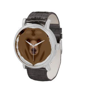 Bear Wild Alaska Animal Safari Destiny Wrist Watch