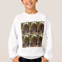 Bear Wild Animal Statue Sculpture New York USA Sweatshirt