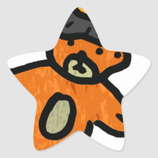 Bear Witch Project Star Sticker