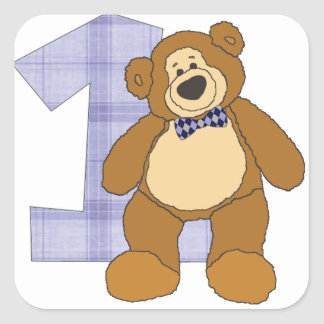 Bear with 1 Stickers
