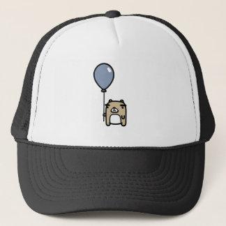 Bear With Blue Balloon Trucker Hat