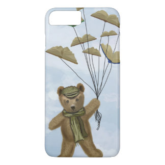 Bear with Book Butterflies 2 iPhone 7 Plus Case