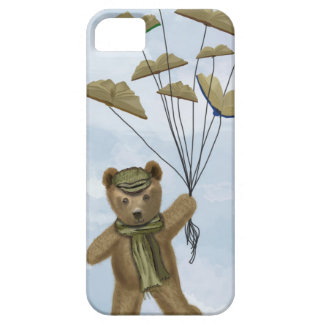 Bear with Book Butterflies 2 iPhone SE/5/5s Case