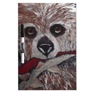 Bear with Fish Dry Erase Board