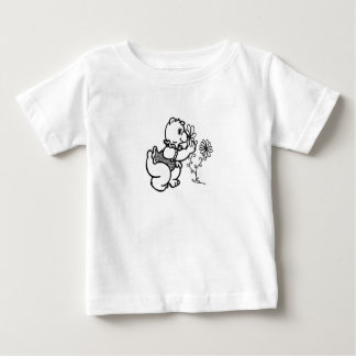 Bear with flower baby T-Shirt