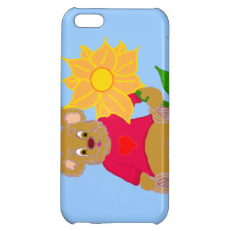 Bear with Flower iPhone Case