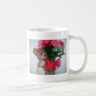 bear With flowers Coffee Mug