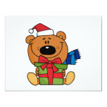 Bear With Gift Holiday Tshirts and Gifts Announcements