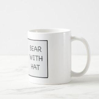 Bear With Hat Classic White Coffee Mug