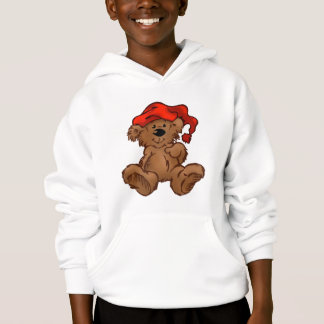 Bear with Hat Hoodie