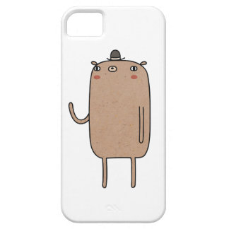 Bear With Hat iPhone SE/5/5s Case