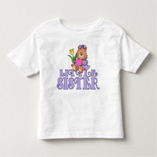 Bear with Heart Little Sister T Shirt