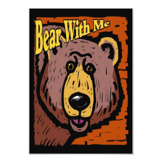 Bear With Me Card